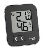 Termohigrometru digital Negru S30.5026.01