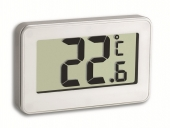 Termometru digital cu magnet si suport alb