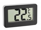 Termometru digital cu magnet si suport negru