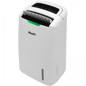Dezumidificator si purificator Woods AD 20; Capacitate 20 litri/zi, Filtru Hepa, Ionizare, Timer, Touch screen, Afisaj digital, Setari digitale