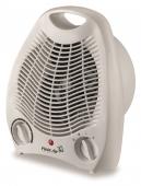 Aeroterma electrica TV EC alba, 2 trepte 1000-2000W, ventilatie si incalzire