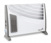Convector electric Convex Turbo Timer TC NT 24H, termostat, timer, ultra slim, 750-1250-2000W, turbo fan