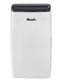 Dezumidificator Woods MDK26 Capacitate 25 litri/zi silentios setare umiditate afisaj electronic timer